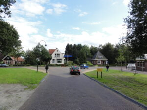 Shared Space im Bezirk Opsterland.