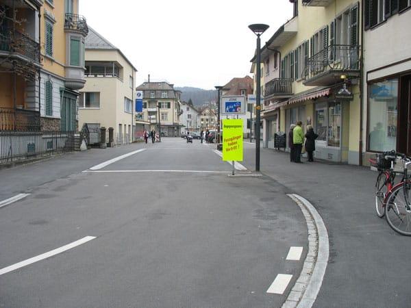 Eingang Begegnungszone